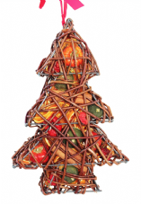 Fruit Wicker Cage: Tree